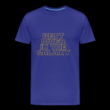 Best Diver in the Galaxy - Men's Premium T-Shirt