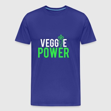 Veggie power - Men's Premium T-Shirt