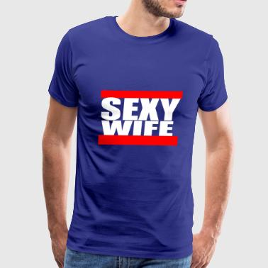 sexy wife - Men's Premium T-Shirt