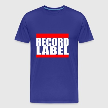 RECORD LABEL - Men's Premium T-Shirt