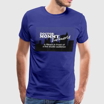 Doctor Mommy: Darkworld title card - Men's Premium T-Shirt