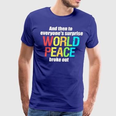 world peace III - Men's Premium T-Shirt