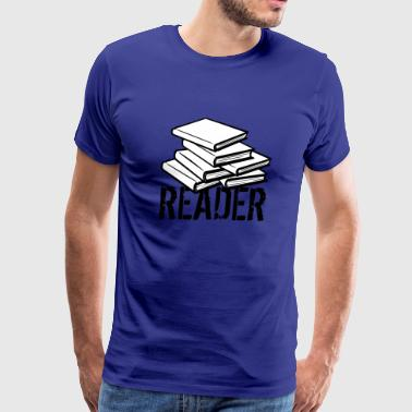 reader - Men's Premium T-Shirt