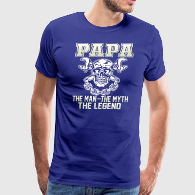 PAPA the man T Shirt - Men's Premium T-Shirt