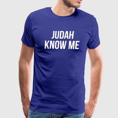 Judah Know Me - Men's Premium T-Shirt