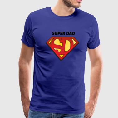 Super Dad - Fathers Day Birthday Christmas - Men's Premium T-Shirt