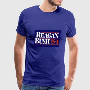 Reagan Bush - Men's Premium T-Shirt