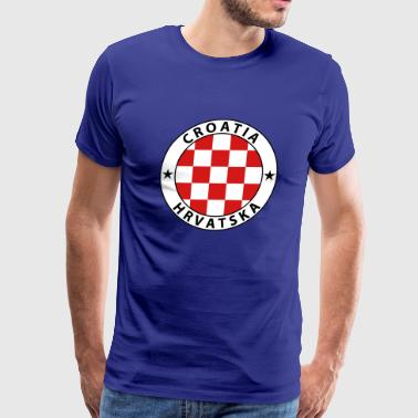 Croatia Design - Men's Premium T-Shirt