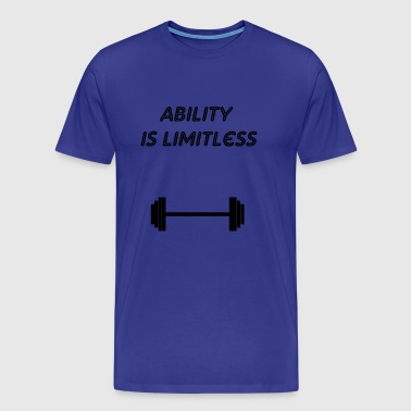 ability is - Men's Premium T-Shirt