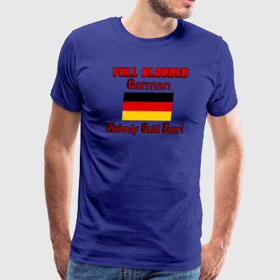 German flag designs - Men's Premium T-Shirt