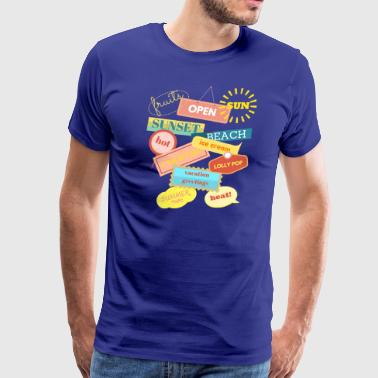summer Time T-Shirt - Men's Premium T-Shirt