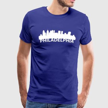 Arc Skyline Of Philadelphia PA - Men's Premium T-Shirt