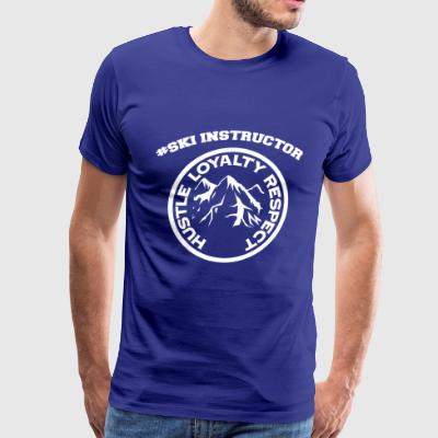 ski instructor - Men's Premium T-Shirt