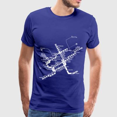 METRO Map - Men's Premium T-Shirt
