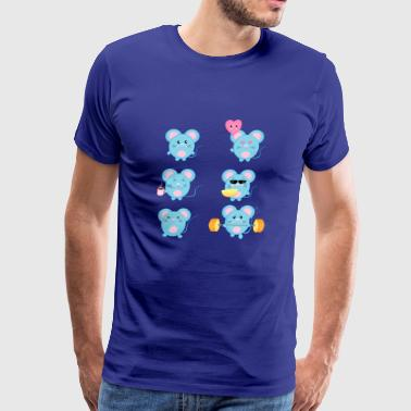 mouse sweet - Men's Premium T-Shirt