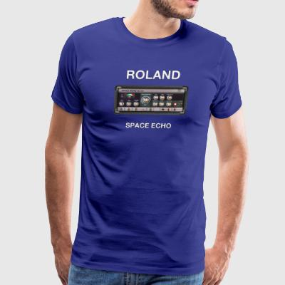 vintage space echo - Men's Premium T-Shirt