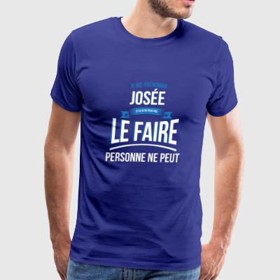 Josée nobody can gift - Men's Premium T-Shirt