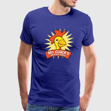 Mr. Cluck's Chicken Shack - Men's Premium T-Shirt