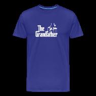 Der Grossvater Lustig Herren T Shirt Geburtstagsg   Menu0027s Premium T Shirt