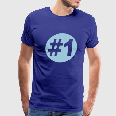 Number 1 - Men's Premium T-Shirt