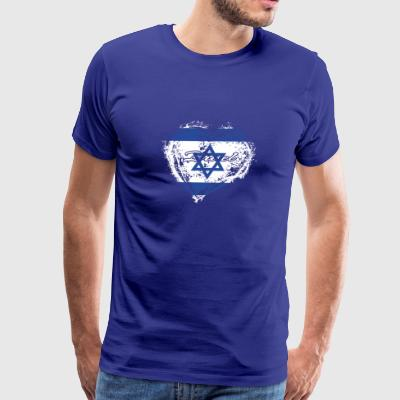 HOME ROOTS COUNTRY GIFT LOVE Israel - Men's Premium T-Shirt