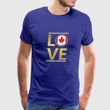 roots love home geschenk queen Canada - Men's Premium T-Shirt