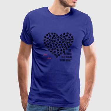 Lovely footsteps - Men's Premium T-Shirt