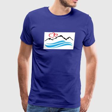 Lake Tahoe - Men's Premium T-Shirt