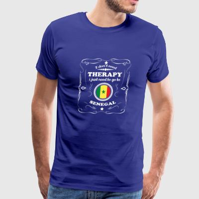 DON T NEED THERAPIE WANT GO SENEGAL - Men's Premium T-Shirt