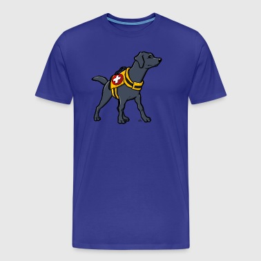 Labrador Rescue Dog - Men's Premium T-Shirt