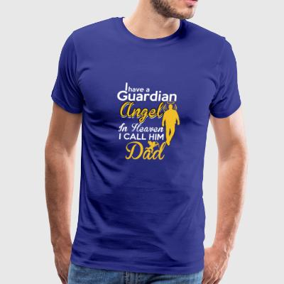 ANGEL DAD TSHIRT - Men's Premium T-Shirt