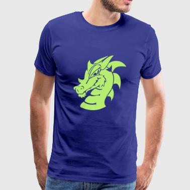 smiling dragon - Men's Premium T-Shirt