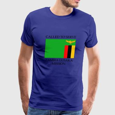Zambia Lusaka Mission LDS Mission Called to - Men's Premium T-Shirt