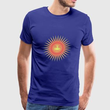 sun sonne summer sommer beach - Men's Premium T-Shirt