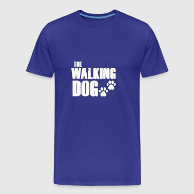 The walking dog! - Men's Premium T-Shirt
