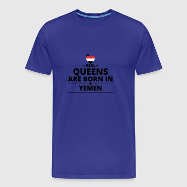 GESCHENK QUEENS LOVE FROM YEMEN - Men's Premium T-Shirt