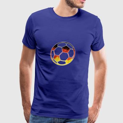 GERMANY SOCCER BALL Germania Balls Flag Worldcup - Men's Premium T-Shirt