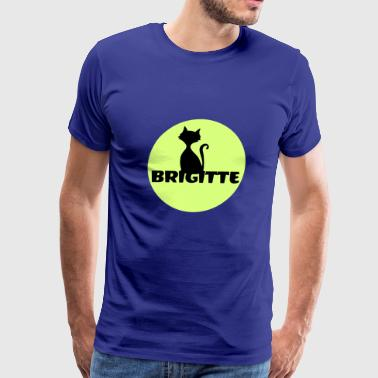 Brigitte name first name - Men's Premium T-Shirt