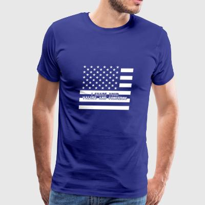 I Share Your Values and Concerns - Men's Premium T-Shirt