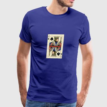 Cool and Trendy Jack Card Design - Men's Premium T-Shirt