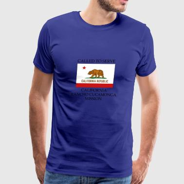 California Rancho Cucamonga Mission Called to Serv - Men's Premium T-Shirt