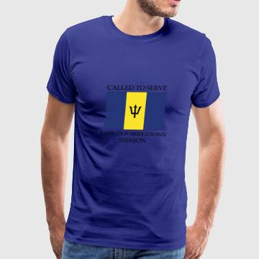 Barbados Bridgetown Mission Called to Serve Flag - Men's Premium T-Shirt