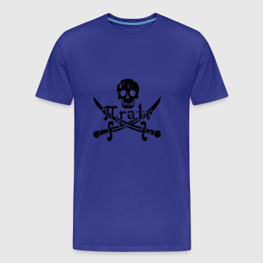 Pi rate Pirate - Men's Premium T-Shirt