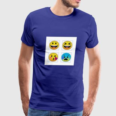 emojies - Men's Premium T-Shirt