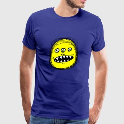 Three eyed monster - Men's Premium T-Shirt