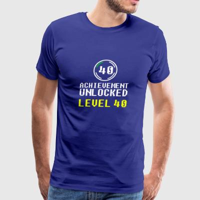 achievement unlocked level 40 - Men's Premium T-Shirt