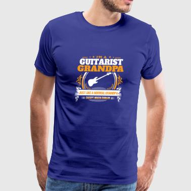 Guitarist Grandpa Shirt Gift Idea - Men's Premium T-Shirt