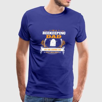 Beekeeping Dad Shirt Gift Idea - Men's Premium T-Shirt