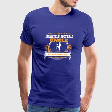 Freestyle Football Uncle Shirt Gift Idea - Men's Premium T-Shirt