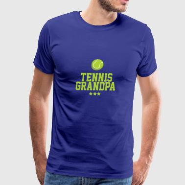 Grandpa Tennis Costume. Shirt For Grandpa - Men's Premium T-Shirt